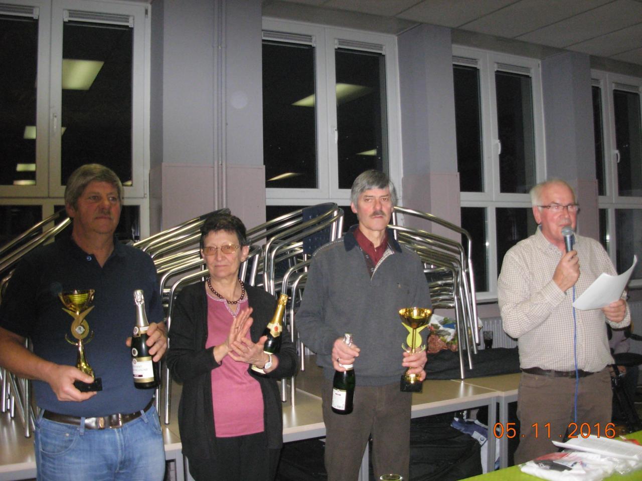 Lauréats 2016 / Assiduités