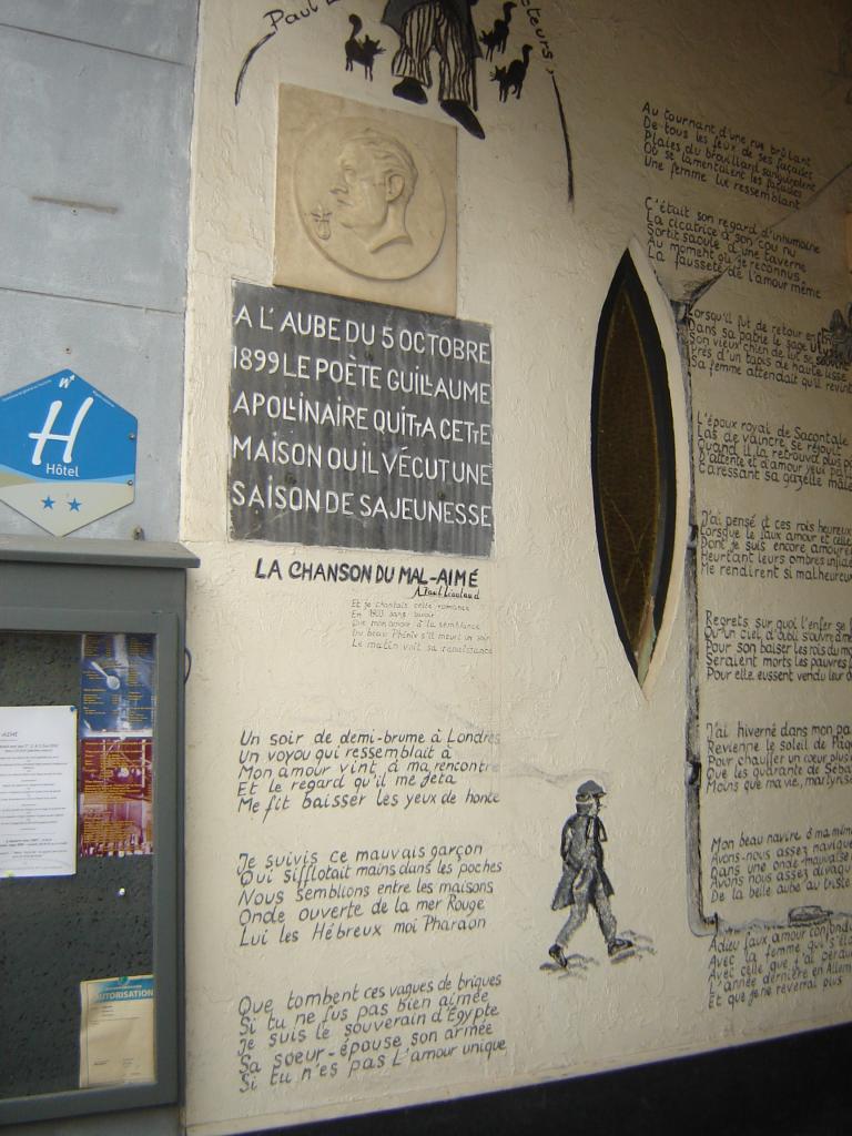 Passage d'Apollinaire à Stavelot
